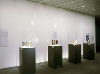 Collections & Reflections, 1997, mixed media, Sainsbury Centre for Visual Arts