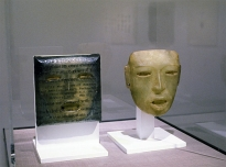Teotihuacan & Teotihuacan mask (Sainsbury Centre for Visual Arts World Art Collection), 1997, mixed media