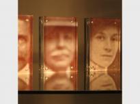 One Minute (detail), 2011, digital prints & perspex