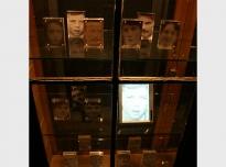 One Minute (detail), 2011, digital prints, perspex & LCD screens, Gallery of Wonder, Newcastle University