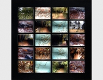 Thinking Path, Beagle Journey 02.10.1836/2003 #7, 2003, glass lenses, polypropylene and digital print 25 x 26 cms