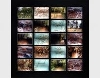 Thinking Path, Beagle Journey 02.10.1836/2003 #7, 2003, glass lenses, polypropylene and digital print 25 x 26 cms