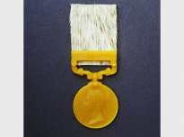 Medals (detail), 1999, African beeswax & cowhide, each medal 10 x 3.5 cms