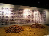 Bullets I & Bullets II, 1999, mixed media, Royal Engineers Museum